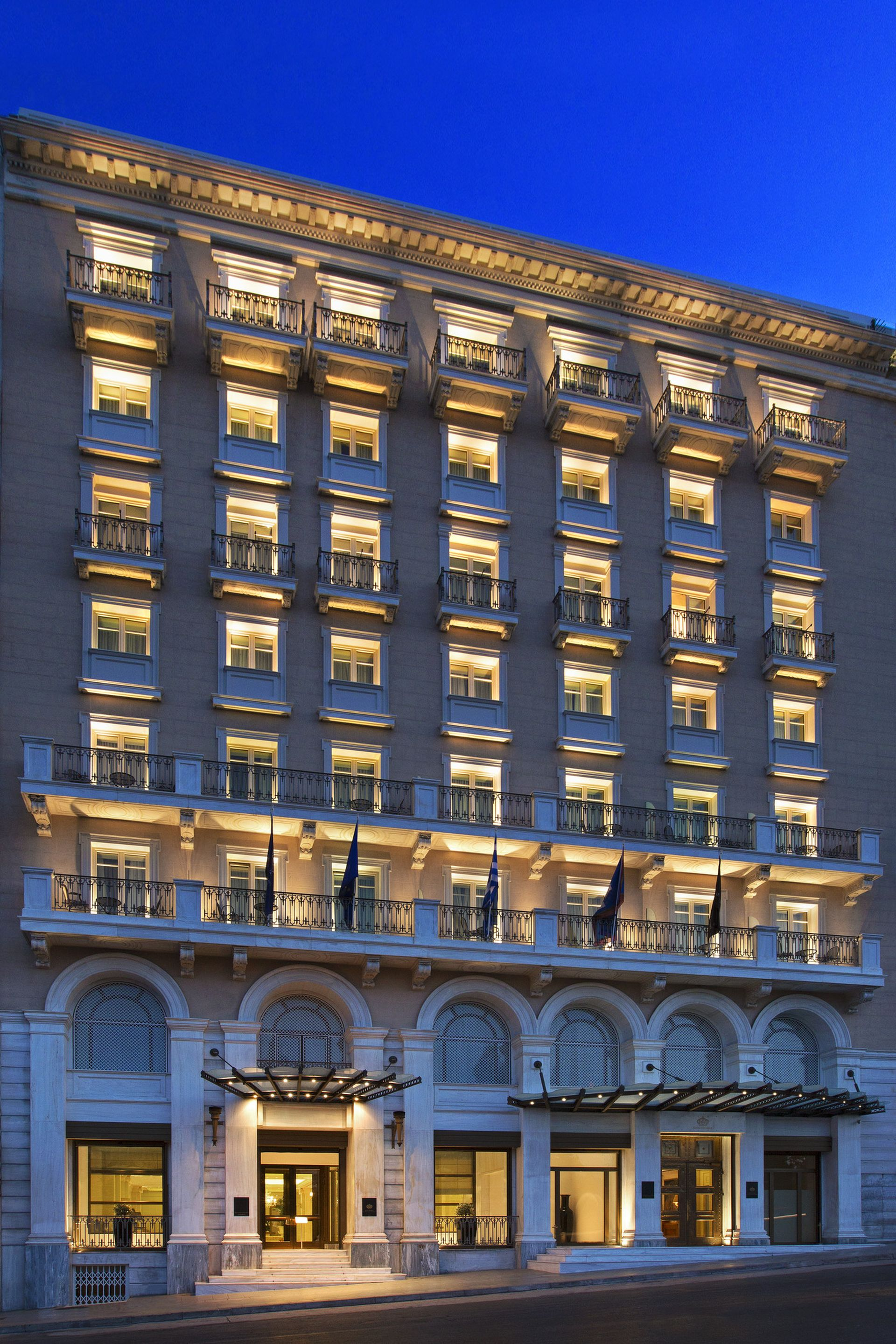 King george a luxury collection hotel athens gtp for Hotel collection hotels